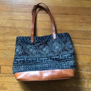 Madewell Canvas Oversized Tote